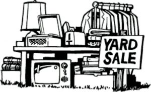 Yard Sale Dates for 2018